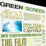 Green On Screen website