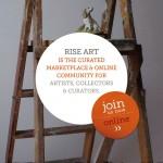 Rise Art Ad back
