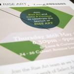 Rise Art Invite