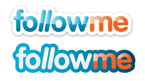 Follow me on Facebook Logo Follow me Picture Icon